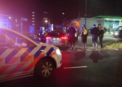 Mishandeling na ruzie op straat Capelseweg Rotterdam
