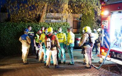 Man overleden bij brand van Hogendorpsingel Barendrecht