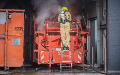 Brand bakkerij Klootwijk Vlierbaan Capelle aan den IJssel