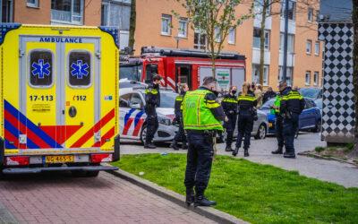 Vier gewonden bij woningbrand Schilperoorstraat Rotterdam